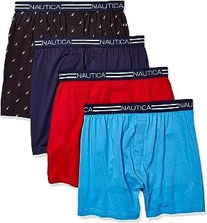 Nautica Men's Classic Cotton Loose Knit Boxer