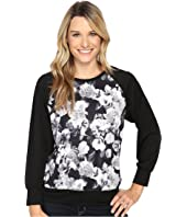 Nally & Millie - Floral Raglan Sleeve Top