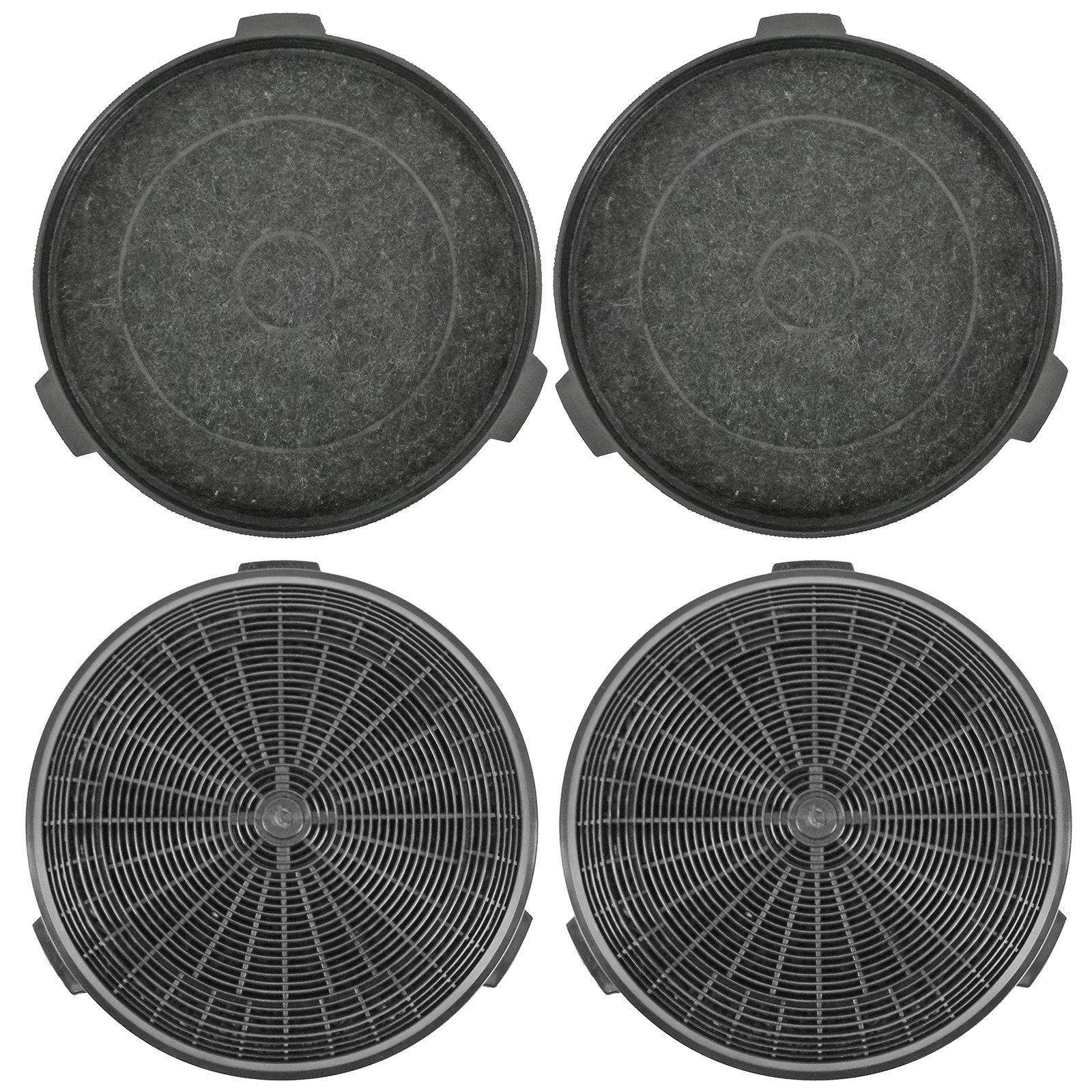 Spares2go carbfilt5 tipo extractor ventilación filtro para B & Q/cata/Cooke & Lewis/Designair Campana (Pack de 4): Amazon.es: Hogar