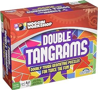 Outset Media Noggin Workshop Double Tangrams Geometric Puzzles