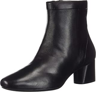 CLARKS Womens Un Cosmo Up Black Leather Boot - 9.5