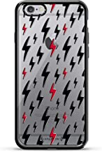 Luxendary Pattern Of Lightning Design Chrome Series Case for iPhone 6/6S Plus - Titanium Black