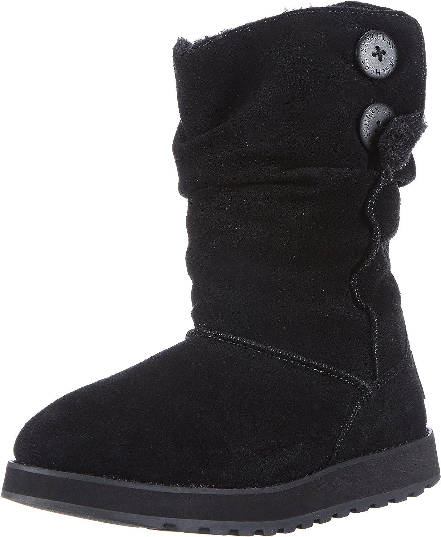 Skechers Women's Keepsakes-Freezing Temps faux fur-Lined Boot