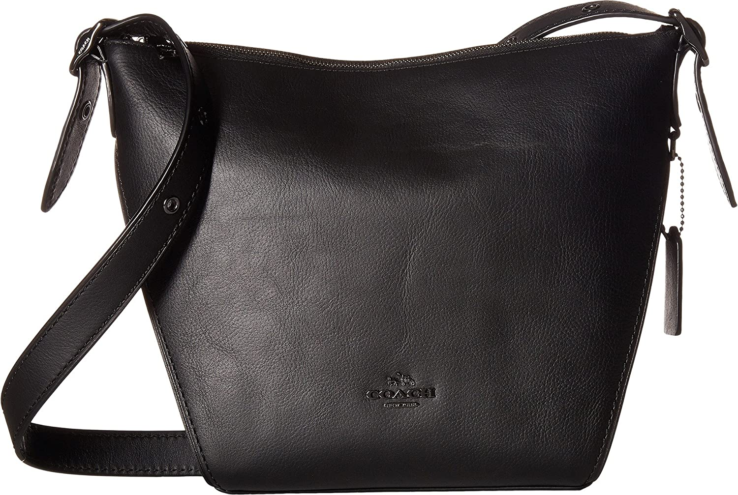 COACH Womens Small Dufflette in Natural Calf Leather