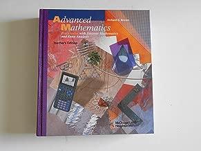 McDougal Littell Advanced Math: Teacher's Edition Grades 9-12 1997