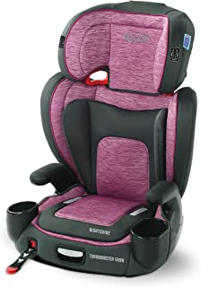 GRACO, TurboBooster Grow High Back Booster Seat Featuring RightGuide Seat Belt Trainer, Joslyn