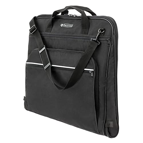 Prottoni 44-Inch Garment Bag for Travel – Water-Resistant Carry-On Suit