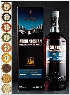 Auchentoshan Three Wood Single Malt Whisky  9 Edel Schokoladen in 9 Sorten
