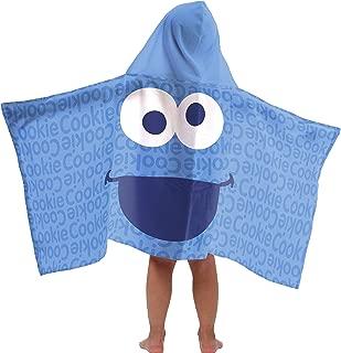 Jay Franco Sesame StreetCookie Monster Cotton Hooded Bath/Pool/Beach Towel