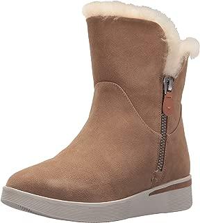 Women's Hazel-Levitt Sneaker Bootie Double Zip Shearling Ankle Boot