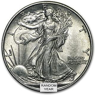 1916-1947 Walking Liberty Half Dollar BU Half Dollar Brilliant Uncirculated