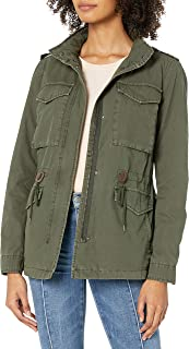 Women's Parachute Cotton Military Jacket