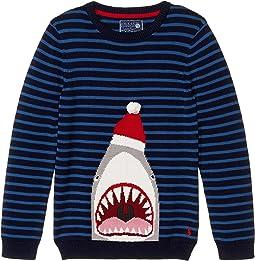 Navy Festive Shark