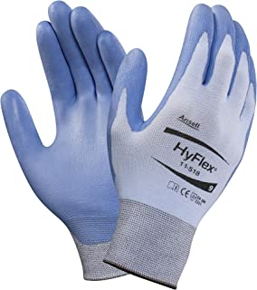 Ansell 111710 HyFlex 11-518 Lightweight Gloves with Dyneema Diamond Technology, 0.33
