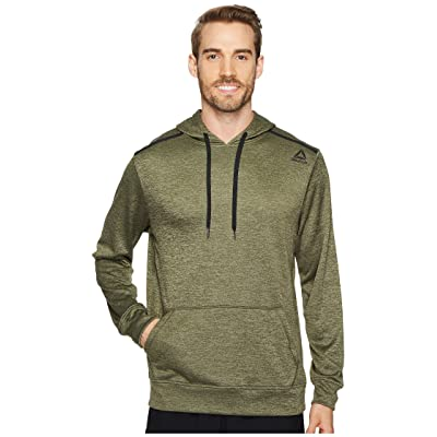 Reebok Double Knit Fleece Hoodie (Hunter Green) Men
