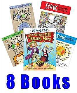 Ultimatecollection: Judy Moody #1 - 5 :Judy Moody & Stink Mad Mad Treasure Hunt ; Judy Moody Gets Famous - Judy Moody Save...