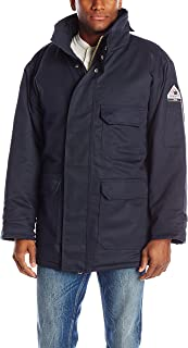 Bulwark Men's Flame Resistant 7 oz Twill Excel FR ComforTouch Deluxe Parka