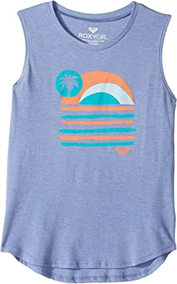 Roxy Kids - Sunday Sunset Muscle Tee (Big Kids)