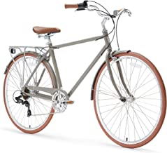 sixthreezero Ride in The Park Men's Touring City Road Bicycle with Rear Rack
