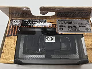 M2 Machines Bootlegger 1968 Plymouth Barracuda HEMI Super Stock 1/64 BL02 16-28 Black Details Like NO Other! Over 42 Parts 1 of 9800