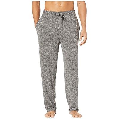 Jockey Cool-Sleep Sueded Jersey Pants (Charcoal Heather) Men