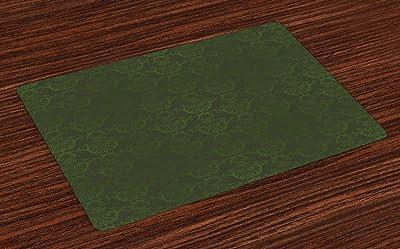"Amazon.com: Jujin 17.7"" Placemats Set of 8 Non-Slip Washable ..."