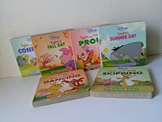 Winnie the Pooh Board Book Set (Healthy Kids Series): Skipping; Dancing; Summer Day; Fall Day; Confused; Proud