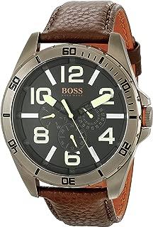 BOSS Orange Men's 1513166 Berlin Analog Display Japanese Quartz Brown Watch