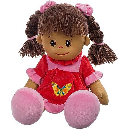Heunec 470873 Lucy - Muñeca de pelo marrón XL [Importado de Alemania]