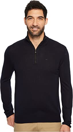 Merino End on End 1/4 Zip Sweater