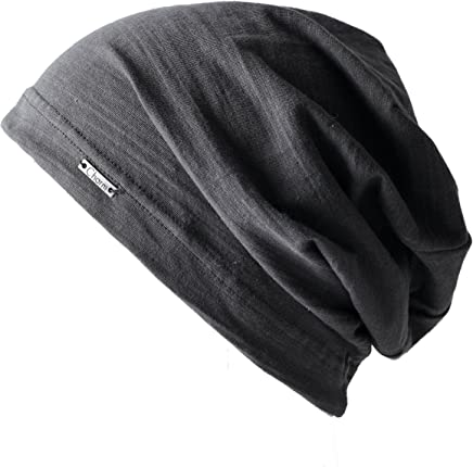 9e7e72904ee CHARM Summer Beanie for Men and Women - Slouchy Lightweight Chemo Cotton  Fashion Hat