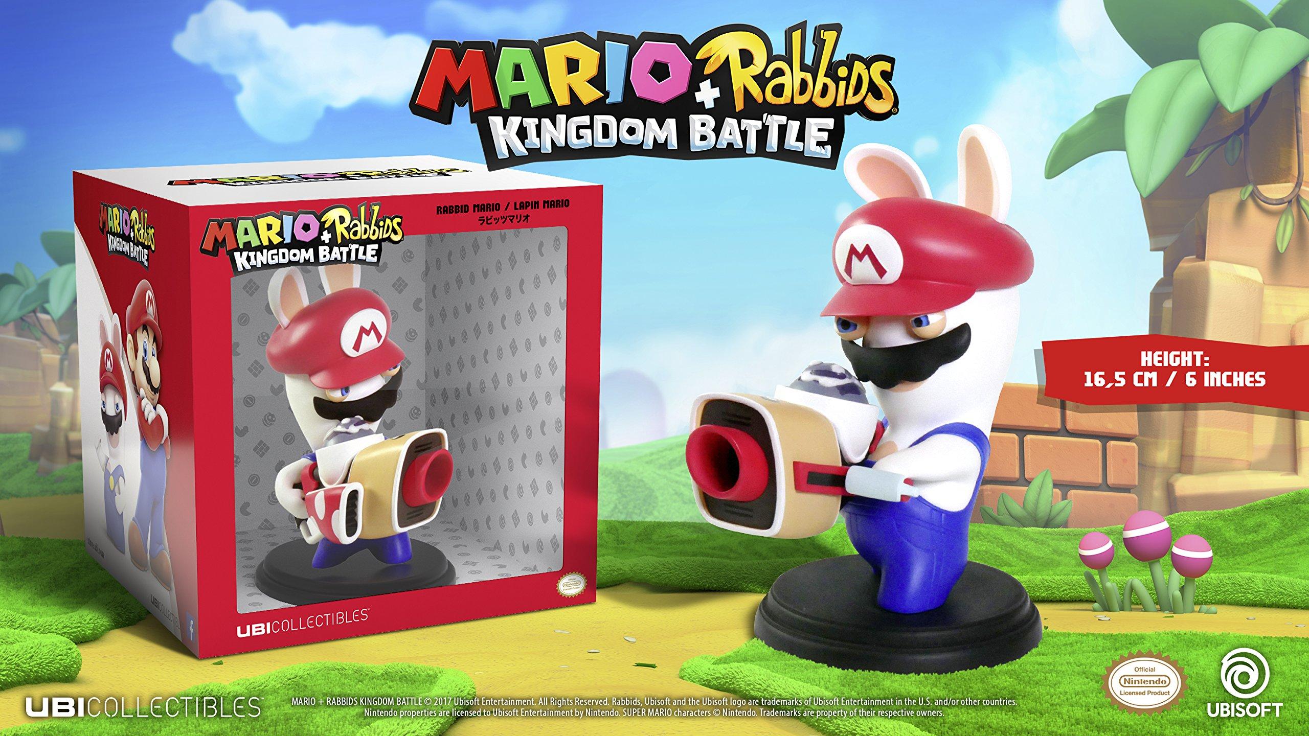 Lobcede Mario + Rabbids Kingdom - Figurine 6 Inch Rabbit Mario ...