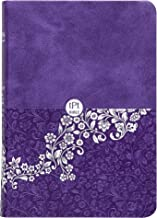 The Passion Translation New Testament, Violet (Compact Edition, Imitation Leather) – Compact Bible with Psalms, Proverbs, and Song of Songs, Makes a Great Gift for Confirmation, Holidays, and More