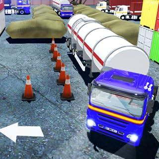 3D Truck Parking Sim Real Semi Trailer Driver Game