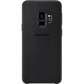 Samsung Alcantara Cover – Funda para Galaxy S9, color negro ...