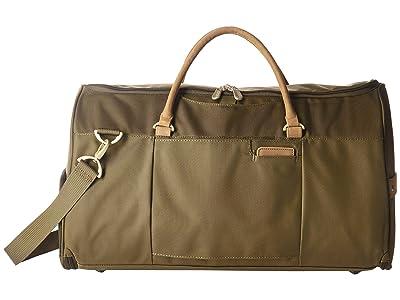 Briggs & Riley Baseline Suiter Duffle (Olive) Duffel Bags