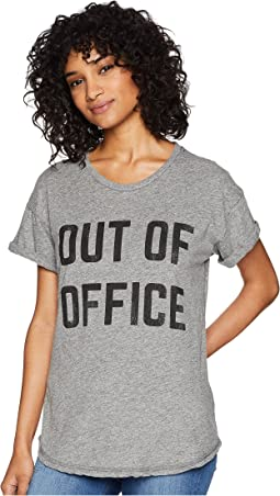 Out of Office Short Sleeve Mocktwist Tee