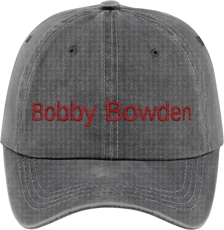 Adult Embroidered Cowboy Hat Bobby Bowden The Football Coach Legendary Sun Hat Baseball Cap