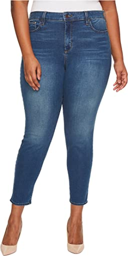 NYDJ Plus Size Plus Size Ami Skinny Legging Jeans in Smart Embrace Denim in Noma