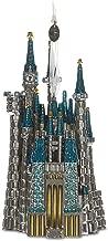Hallmark Keepsake Christmas Ornament 2018 Year Dated, Disney Cinderella Castle, Metal Premium Gemstone