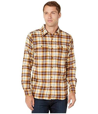 ExOfficio BugsAway(r) Redding Midweight Flannel Long Sleeve Shirt (Dijon) Men