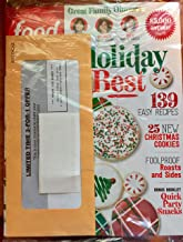 Food Network December 2018 Holiday Best - 139 Easy Recipes