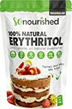 Erythritol Sweetener Granular (1 lb / 16 oz) - Perfect for Diabetics and Low Carb Dieters - No Calorie Sweetener, Non-GMO, Natural Sugar Substitute