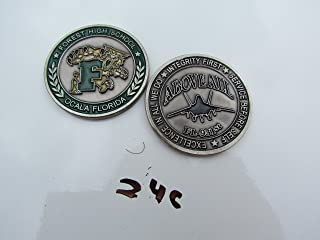 US Air Force 931st AFJROTC Forest High School Challenge Coin