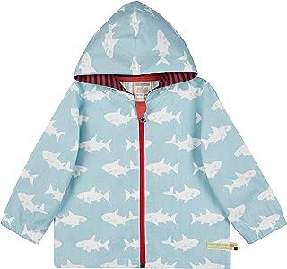 Loud + Proud Outdoorjacke, GOTS Zertifiziert Jacket, Bleu Turquoise, 62/68 cm Mixte bébé