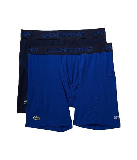 blue lacoste shorts