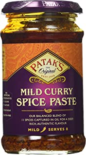 Patak's Curry Paste Mild, 10-Ounce Jars (Pack of 6)