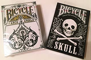 Bicycle Dead or Alive Archangel & Skull Playing Cards