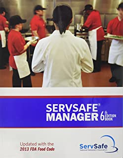 ServSafe Manager 6th Edition Updated with the 2013 FDA Food Code ESX6R with Exam Answer Sheet