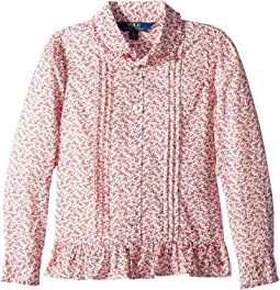 Polo Ralph Lauren Kids - Floral-Print Cotton Top (Little Kids)
